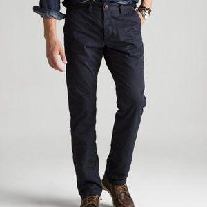 NEW GROWN & SEWN USA Pants Jeans BLACK LEGEND 34